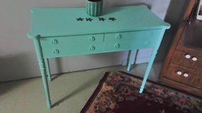 Aqua sofa table in Wilmington, North Carolina