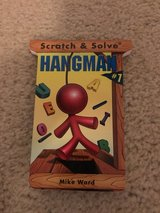 NEW Scratch & Solve Hangman #1 book in Camp Lejeune, North Carolina