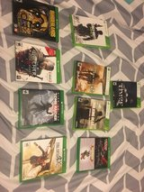 Xbox one and Xbox 360 games in Fort Riley, Kansas