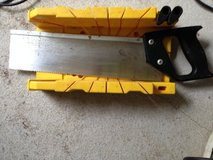 Miter Box with Hand saw in Ramstein, Germany