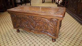 Carved Oak Trunk Others available Free Delivery in Lakenheath, UK