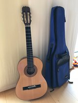 Hohner concert guitar HC 02 for children (1/2 size) and GEWA bag in Ramstein, Germany