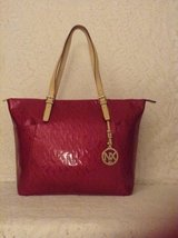 NEW ABA Collection by NX shopper tote in raspberry patent leather,purse,handbag in Yucca Valley, California