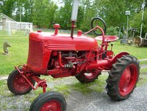 Tractor in Fort Campbell, Kentucky