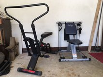 exercise bike and resistance trainer in Warner Robins, Georgia