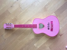 Girls' Pink Schoenhut Guitar with Black Carrying/Storage Case in Oswego, Illinois