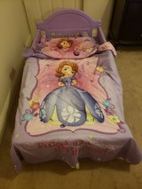 Toddler bed and mattress in Camp Pendleton, California