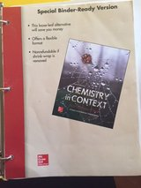 Chemistry in Context - 8th Edition in Bolingbrook, Illinois