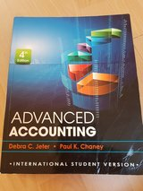 Advanced accounting. Chaney. in Ramstein, Germany