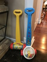 Fisher-Price Melody Push Chime & Corn Popper in St. Charles, Illinois