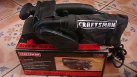 High power belt sander by craftman in Fort Bliss, Texas