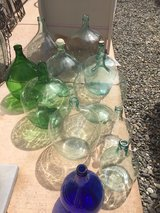 Decor from Europe... demijohns galore! in Fairfield, California