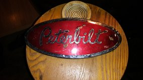"Peterbilt Red / Chrome 12"" Truck Insignia in Alamogordo, New Mexico"