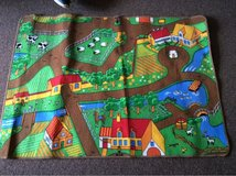 Farmyard road play rug 130cm by 95cm in excellent condition. in Lakenheath, UK