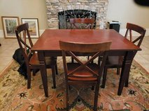 Dining Room Table with 4 Chairs in Fort Benning, Georgia