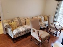 Living Room Set with 4 Chairs in Fort Benning, Georgia