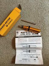 NEW Tohnichi Adjustable Torque Screwdriver RTD60CN in Orland Park, Illinois