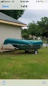 Canoe, 10ft boat and trailer in Macon, Georgia
