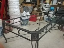 Wroth iron coffee or patio table frame. Has no table top. in Leesville, Louisiana