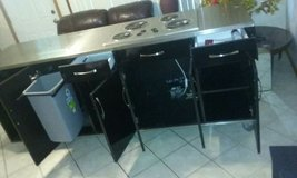 electric stove counter top with mini fridge in Orland Park, Illinois
