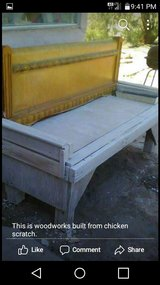 patio bench in 29 Palms, California