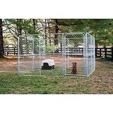 Pipe & Steel Dog Kennel, 100 square feet x 6 ft. high in Fort Rucker, Alabama