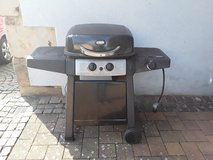 Propane gas grill BBQ with extra cooking area in Ramstein, Germany