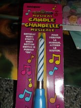 musical birthday candle in Alamogordo, New Mexico