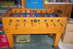 Foosball Table - Harvard full size with electronic score keeper in Tinley Park, Illinois