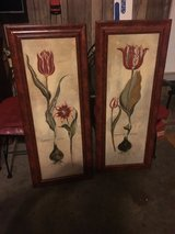 Pair of tall textured art paintings in Hopkinsville, Kentucky