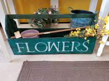 Large Wooden Flowers Box #1685-3564 in Wilmington, North Carolina