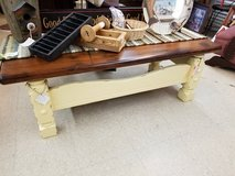 Wood Coffee Table or Bench in Wilmington, North Carolina