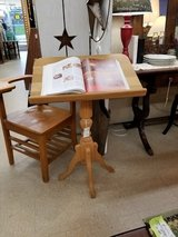 Oak Book Stand-Podium in Wilmington, North Carolina