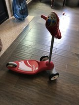 Radio flyer indoor kept scooter sounds in Joliet, Illinois