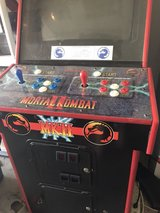 Mortal Kombat game machine in Joliet, Illinois
