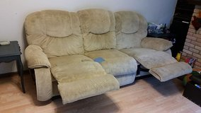La-Z-Boy couch with recliners in St. Charles, Illinois