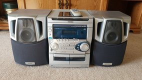 AIWA stereo system. in Lockport, Illinois