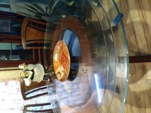 BEAUTYFUL GLASS TOP TABLE in Conroe, Texas
