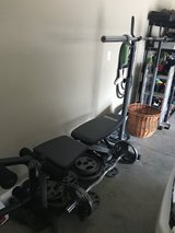 Body Champ Weight bench, Weider weights and barbells in Warner Robins, Georgia