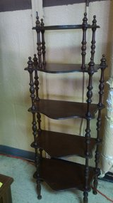 Wooden 5 Tier Display Shelf in Norfolk, Virginia