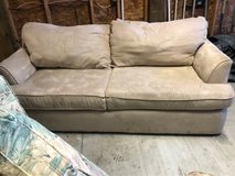 Rooms to Go Taupe Microfiber Sofa in Sneads Ferry in Wilmington, North Carolina