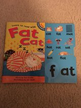 Learn to read with Fat Cat-Fun with Phonics book in Camp Lejeune, North Carolina
