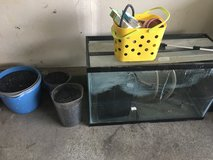 Fish tank with accessories in Camp Pendleton, California