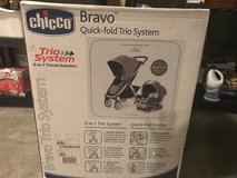 Chicco Key Fit Car Seat and the Chicco Bravo Stroller in Warner Robins, Georgia