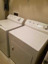 Frigidaire Washer and Gas dryer in The Woodlands, Texas