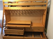 Loft & Trundle Bed With Pullout Desk in Fairfield, California