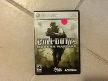 Xbox 360 call of duty 4 in 29 Palms, California