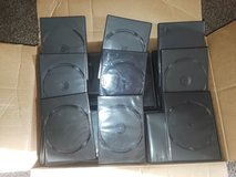 100 DVD (cd)  cases for only $10.. Used..not new in Plainfield, Illinois