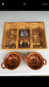 Mexican Rustic Decor Frame Bowls in Naperville, Illinois