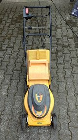 Lawn mover 220V good condition in Ramstein, Germany